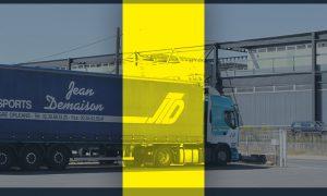 Transport en livraison foulée